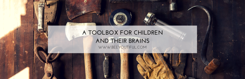 A TOOLBOX FOR CHILDREN AND THEIR BRAINS from Beeyoutiful.com