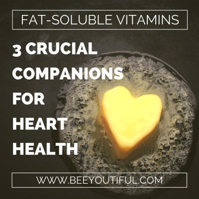 3 Crucial Companions for Heart Health from Beeyoutiful.com