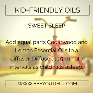 Sweet Sleep Kid-Friendly Essential Oils from Beeyoutiful.com