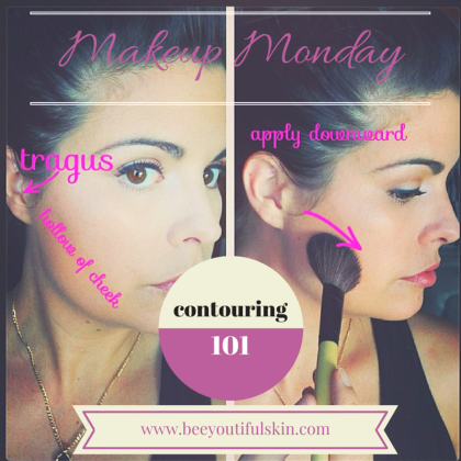 Makeup Monday: Contouring 101 from BeeyoutifulSkin