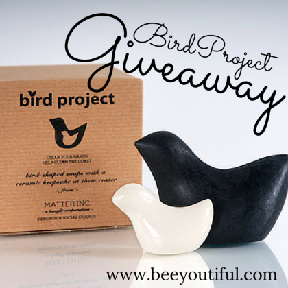 BirdProject Giveaway from Matter and Beeyoutiful.com