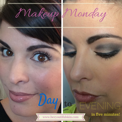 Makeup Monday: Day to Night in 5 Minutes from Beeyoutiful.com