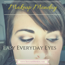 Makeup Monday: Easy Everyday Eyes from BeeyoutifulSkin