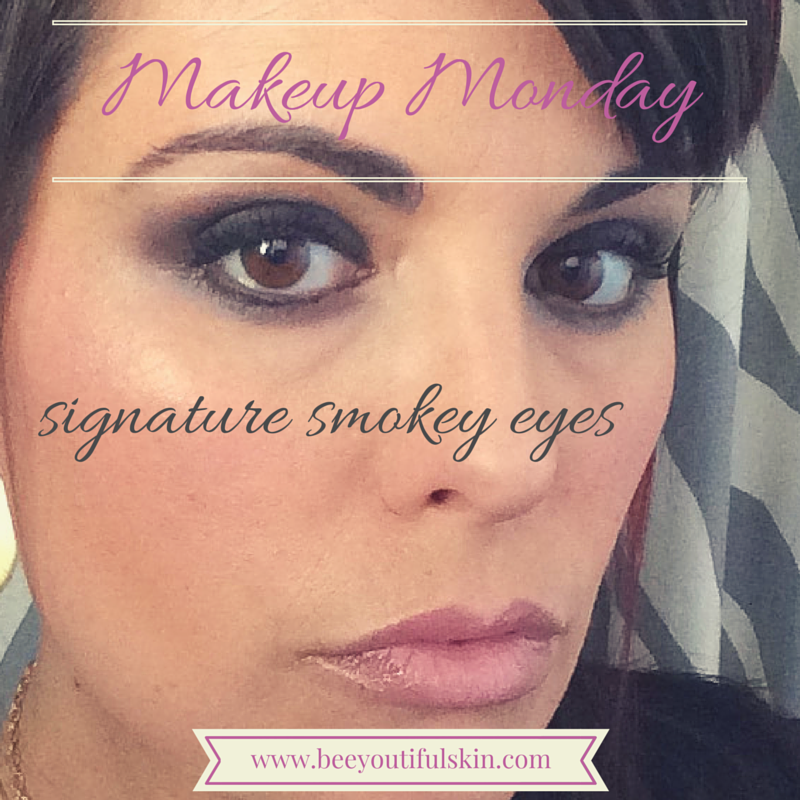 #MakeupMonday: Signature Smokey Eyes from BeeyoutifulSkin.com