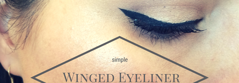 #MakeupMonday: Simple Winged Eyeliner Tutorial
