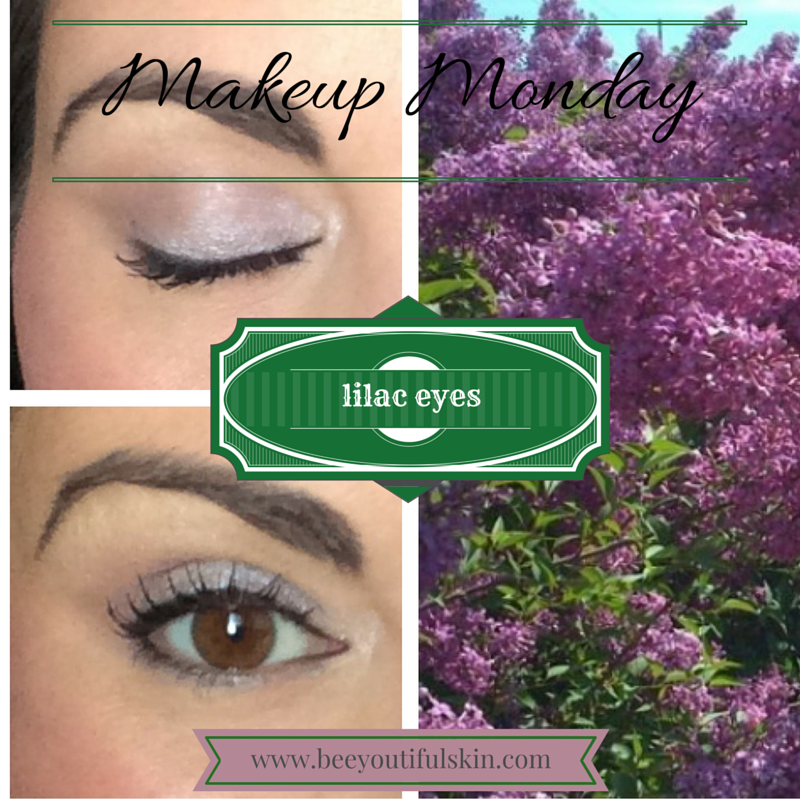 #MakeupMonday: lovely lilac eyes tutorial from BeeyoutifulSkin.com