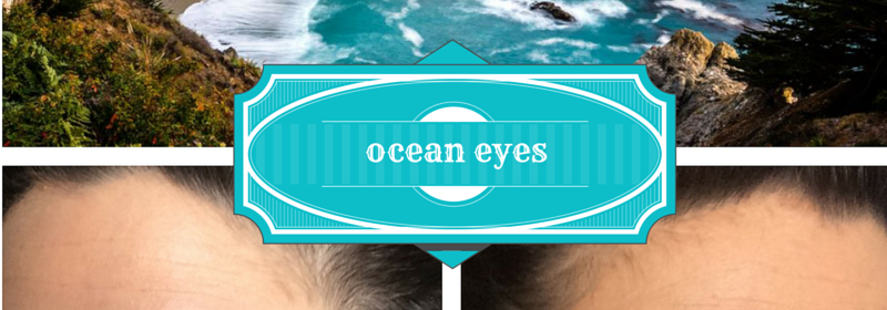 #MakeupMonday, Inspired by Nature: Ocean Eyes