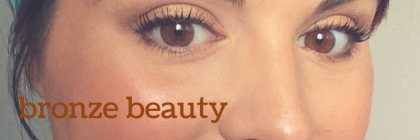 #MakeupMonday: Bronze Beauty from BeeyoutifulSkin.com