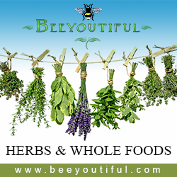 Quality bulk herbs and whole foods from Beeyoutiful.com