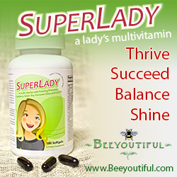 SuperLady: An Optimized Multivitamin for Women from Beeyoutiful.com