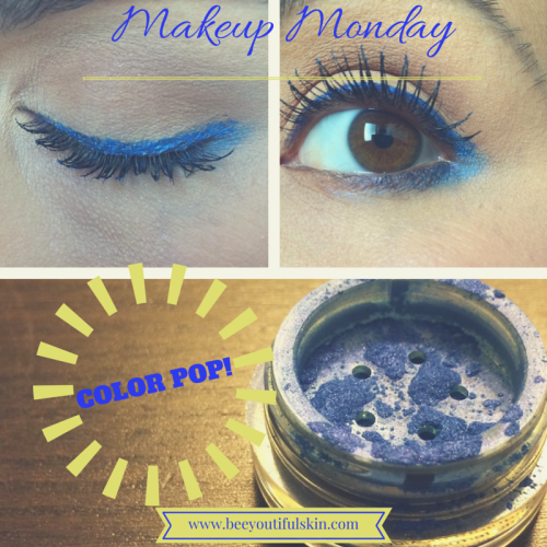 #MakeupMonday- Color Pop! from Beeyoutiful.com