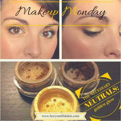 #MakeupMonday, the Necessary Neutrals: Golden Glow from BeeyoutifulSkin.com