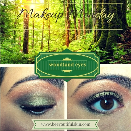 #MakeupMonday: woodland eyes from BeeyoutifulSkin.com