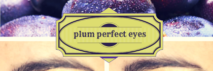 #MakeupMonday- Plum Eyes from BeeyoutifulSkin.com
