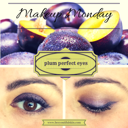 #MakeupMonday: Plum Eyes from BeeyoutifulSkin.com
