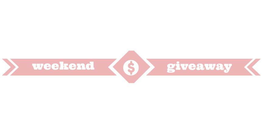 weekend giveaway