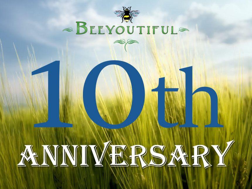 beeyoutiful 10th anniversary